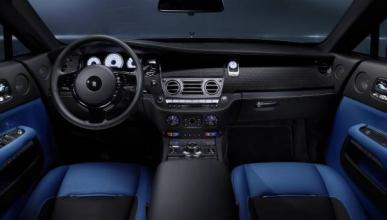 Rolls-Royce Black Badge interior