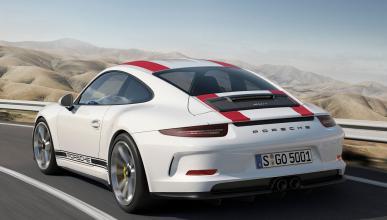 Nuevo Porsche 911 R tres cuartos traseros