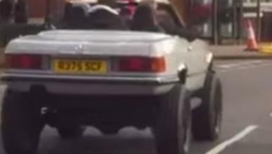 Vídeo: la última aventura de Jeremy Clarkson es 'off road'