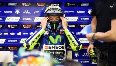"""Rossi: """"Sería un hipócrita si le diese la mano a Márquez"""""""