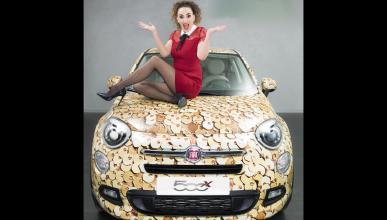 El brillante Fiat 500X de Cristina Rodríguez