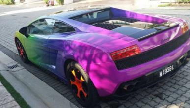 Los cinco peores colores que puedes elegir para tu coche