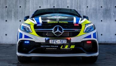 Mercedes GLE63 AMG S Coupé Policía Australia