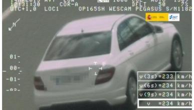 Tres años del Pegasus: 18.274 conductores multados