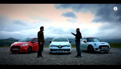 Vídeo: Ford Fiesta St vs. Renault Clio vs. Mini JCW