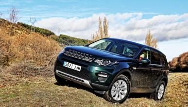 Land Rover Discovery Sport: cazado con nuevo paragolpes