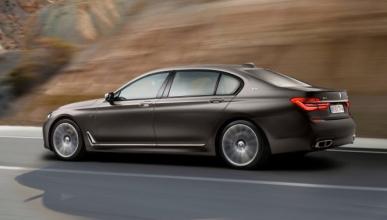 BMW M7 2018: cazado el tope de gama