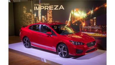 Subaru Impreza Sport Sedan 2017 tres cuartos delantero