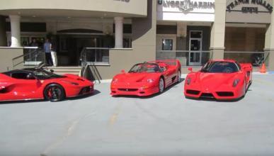 Vídeo: la colección de Ferrari de David Lee