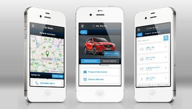 App MyMazda, un asistente en carretera en tu smartphone