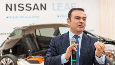 """Carlos Ghosn: """"Los coches eléctricos son la única solución"""""""