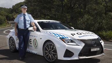 La Policía de Australia estrena coche, ¡y qué coche!