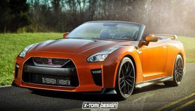 Así podría ser el Nissan GT-R descapotable