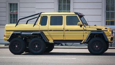 El millonario que se pasea en coches de oro por Londres