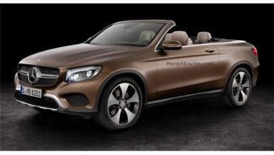 Mercedes GLC descapotable; ¿sería así?