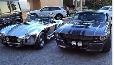 La colección de coches del jugador de póquer Dan Bilzerian