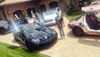 La colección de coches del rapero Tyga