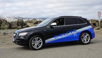 Audi SQ5 autónomo - frontal San Francisco
