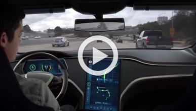 Vídeo: así se ve la vida desde un coche autónomo