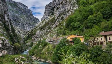 Ruta del Cares, en Picos de Europa
