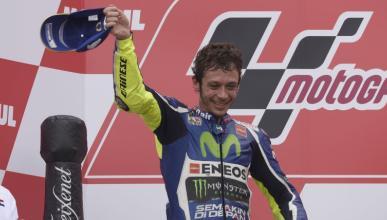 "Valentino Rossi: ""Tuvimos suerte de terminar segundos"""
