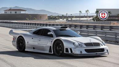 El Mercedes CLK GTR se 'calza' de HRE Wheels
