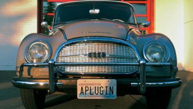 Este Auto Union de 1960 ahora es un coche eléctrico