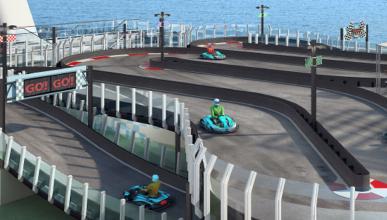 circuito karting crucero