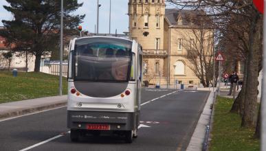 San Sebastián estrena los primeros autobuses autónomos