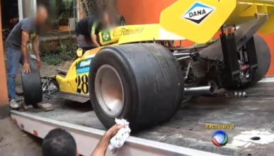 Fittipaldi se queda sin coche