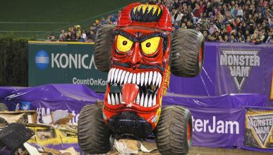 Monster Jam 2016: el salto de 360º nunca visto en España