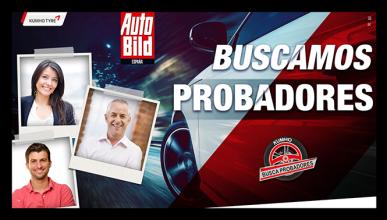 Kumho y Auto Bild buscamos probadores de neumáticos