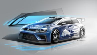 Volkswagen muestra un adelanto del Polo R WRC de 2017