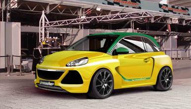 Un Opel Adam más potente en honor al Ascona A