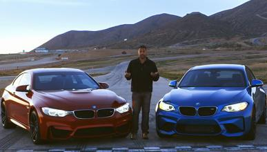 Vídeo: BMW M2 vs. BMW M4, ¡por fin frente a frente!