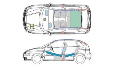 Hojas de rescate en el coche, te pueden salvar la vida
