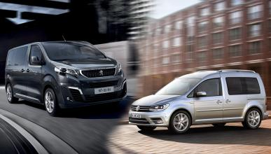 ¿Cuál es mejor, el VW Caddy o el Peugeot Expert 2016?