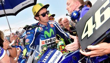 """Valentino Rossi: """"Sería curioso ver a Márquez en Yamaha"""""""