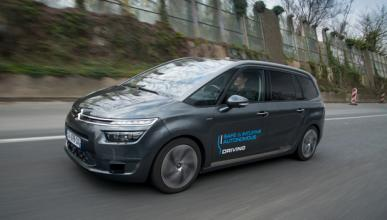 Dos coches autónomos de Citroën viajan a Ámsterdam