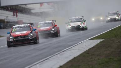 WTCC 2016, Hungría: la lluvia y Citroën, protagonistas
