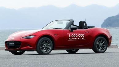 El Mazda MX-5 un millón ya está en la calle