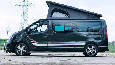 Opel Vivaro Free techo desplegado