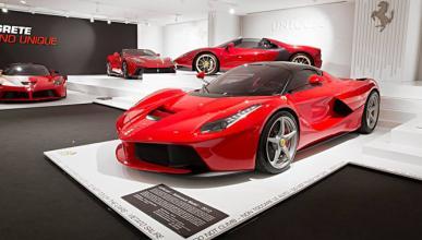 Exhibición proyectos especiales de Ferrari, de otro planeta