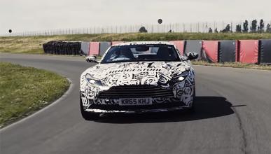 Así suena el nuevo Aston Martin DB11