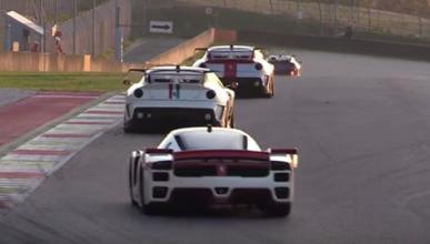 ¡Impresionante! 50 Ferrari Clienti y XX juntos en Mugello