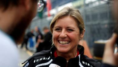 La presentadora de Top Gear competirá en Nürburgring WTCC