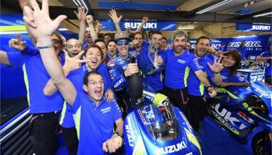 Suzuki regresa al podio de MotoGP 8 años después
