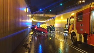 Novedades en el caso del coche que cayó desde 4 m en Madrid