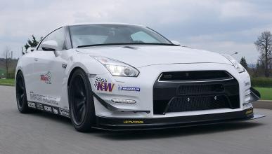 Prueba: Importracing Nissan GT-R GT. ¡Sube hasta 850 CV!