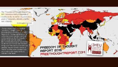 13 países en los que ser ateo se condena con pena de muerte